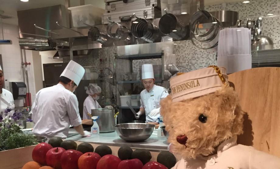 ペニンシュラの厨房