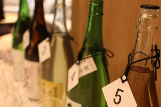 低精白の日本酒